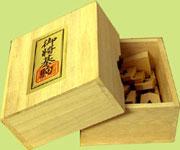 白椿上彫箱